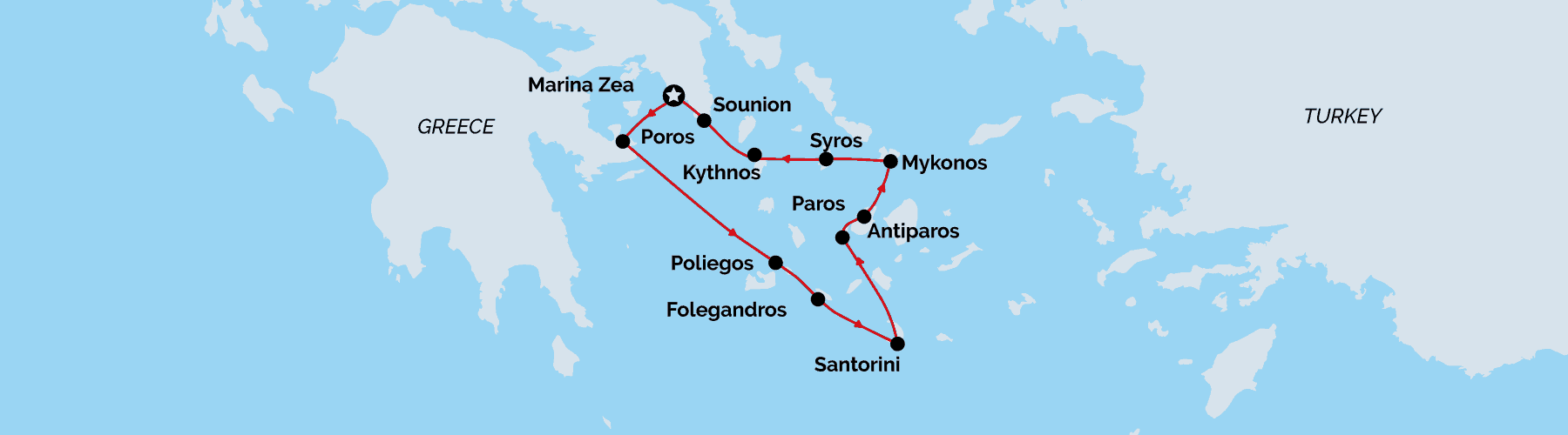 Unforgettable Cruises, Greece Jewels of the cyclades