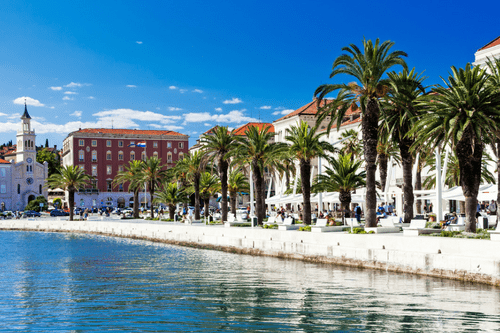 Split, Croatia, Adriatic, Dalmatia