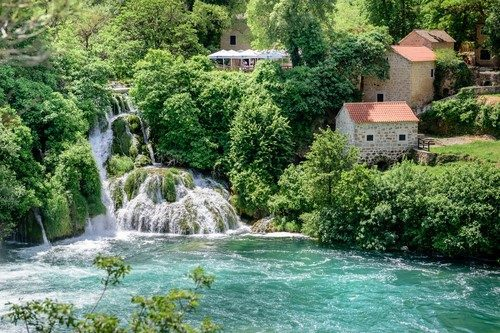 Krka National Park in Sibenik,Croatia