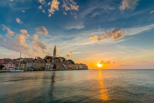 Rovinj, Adriatic sea, Croatia