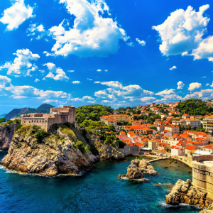 Dubrovnik city and fortress