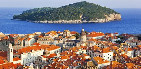Dubrovnik Old Town in Croatia
