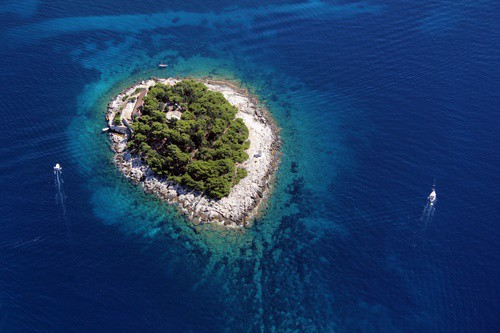Paksleni Islands, Hvar, Croatia
