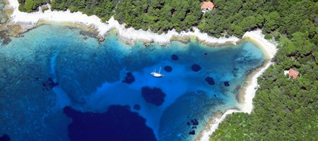 Island of Losinj in Croatia