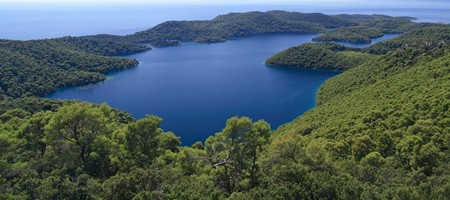 Island of Mljet Croatia