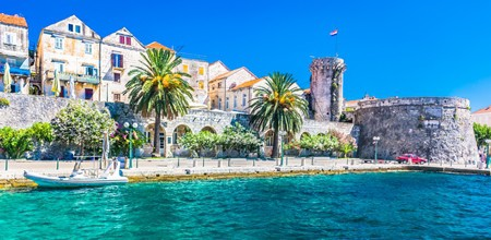 Korcula Old Town in Croatia