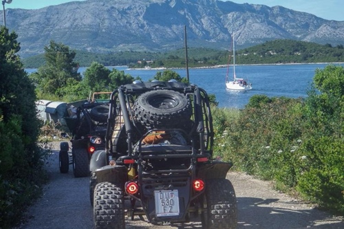 Korcula buggy experience