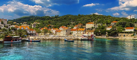 Sipan island in Croatia