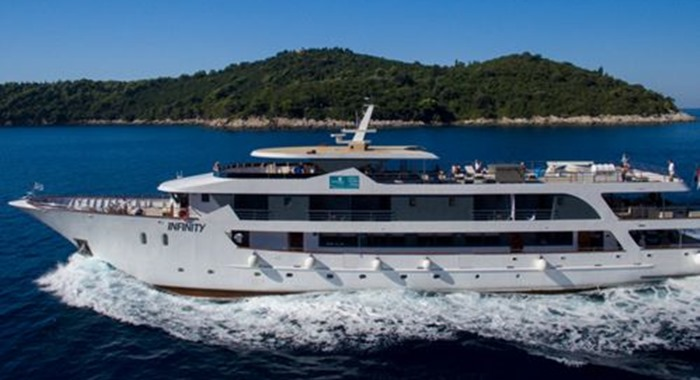 MV Infinity Cruise Ship, Croatia