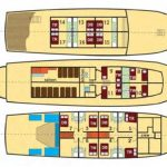 Eden deck plan, Croatia Cruises