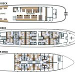 Princess Aloha, Cruise Croatia deck plan