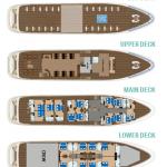 MV Diamond deck plan