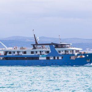MV Ave Maria cruise ship Croatia
