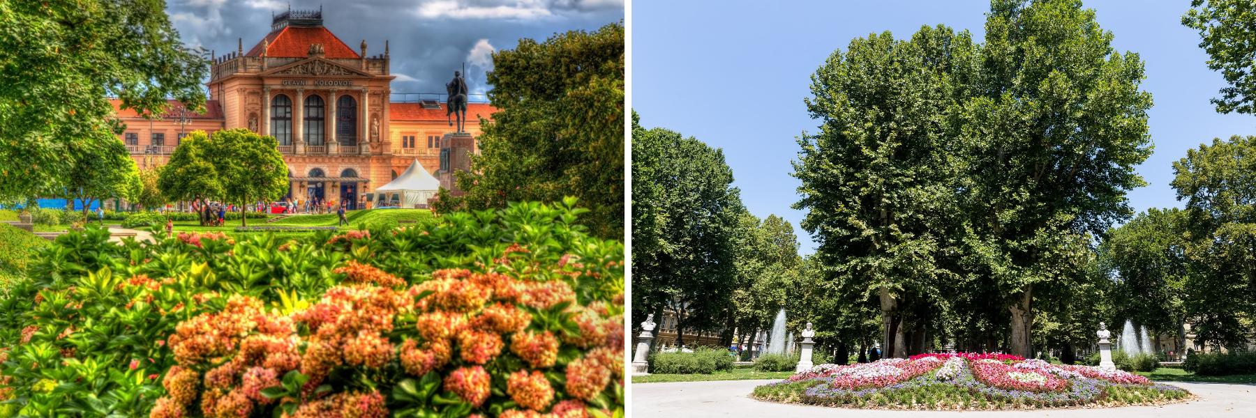 Zrinjevac park, Unforgettable Croatia