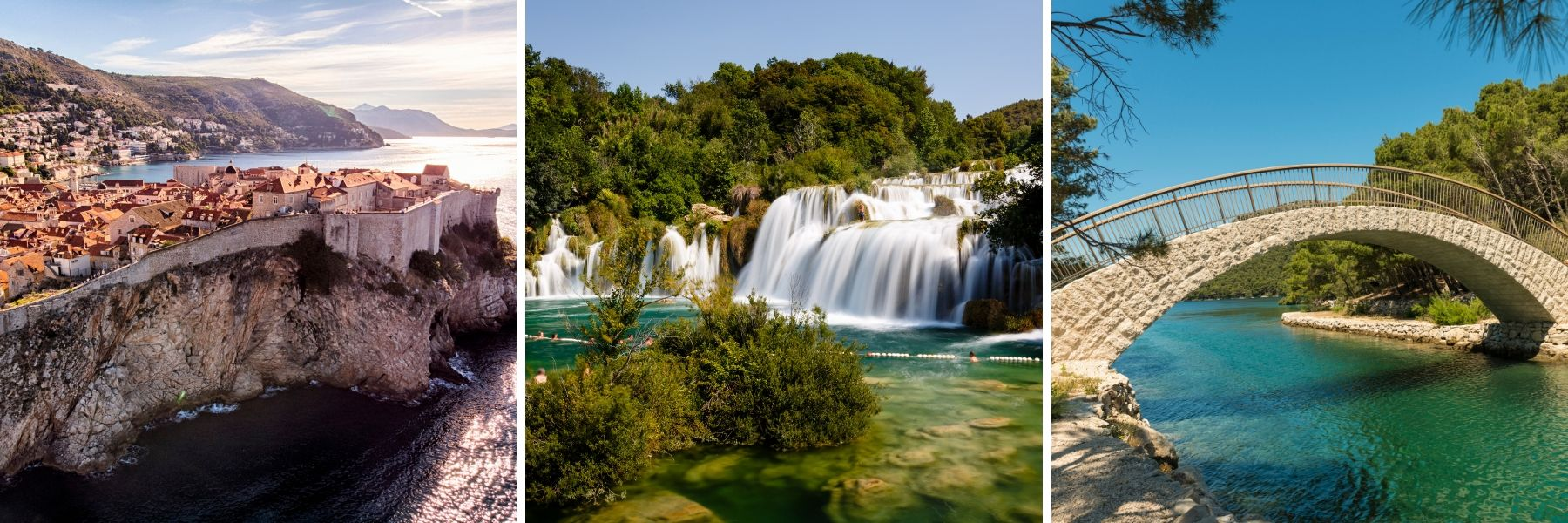 Unforgettable Croatia, Dubrovnik, Krka National Park, Mljet