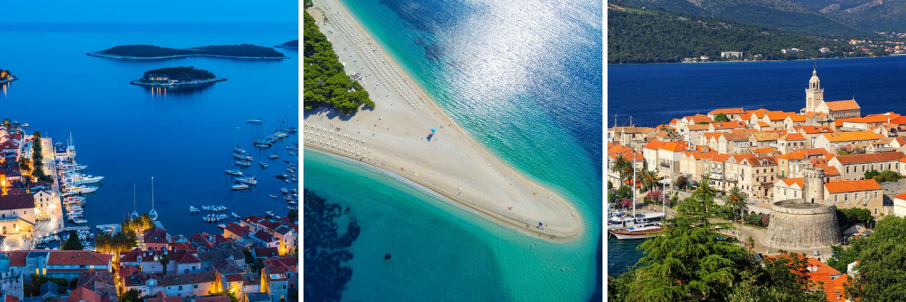 Unforgettable Croatia, Hvar, Brac, Korcula