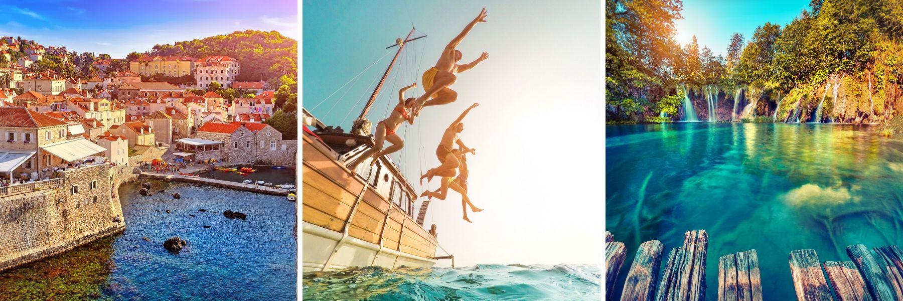 Unforgettable Croatia, Dubrovnik, Plitvice Lakes