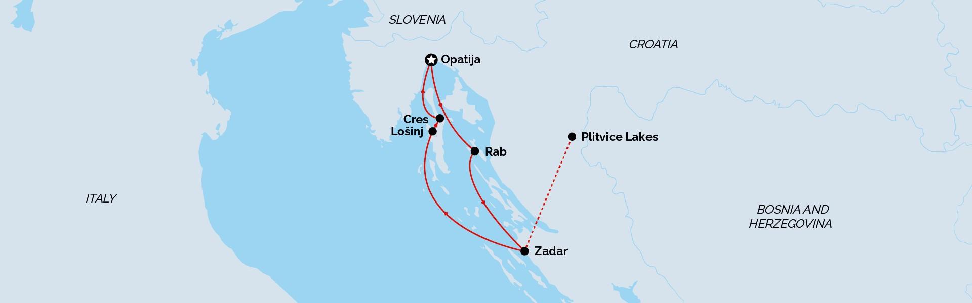 Opatija Return Signature Cruise