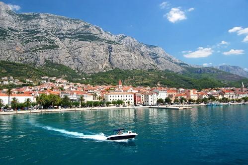 Makarska Town, Croatia