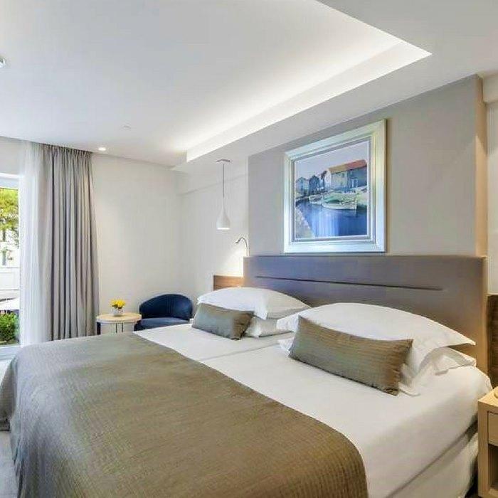 Bedroom, Hotel Bellevue, Losinj Island