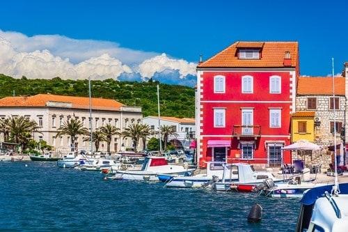 Adriatic coast island Hvar