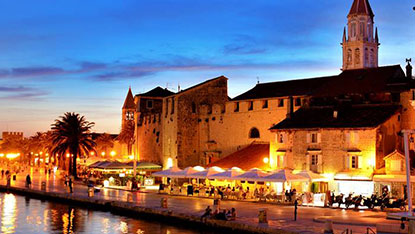 Trogir City at night, Croatia