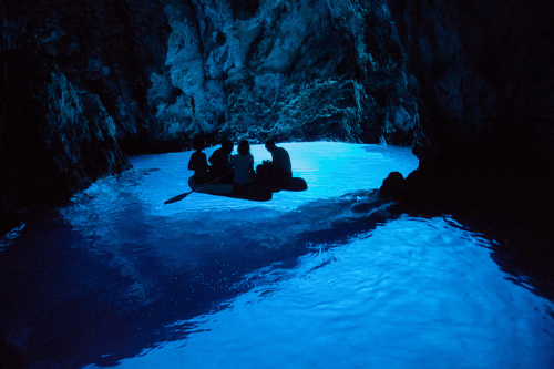 Blue Cave, Croatia