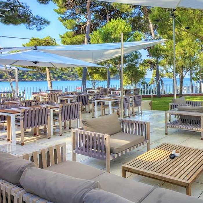 Hotel Bellevue, outdoor area, Losinj Island