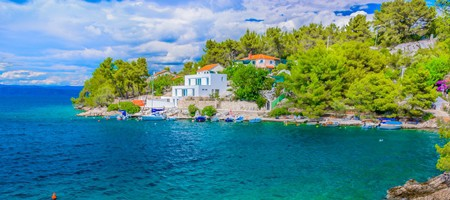 Island of Solta, Croatia