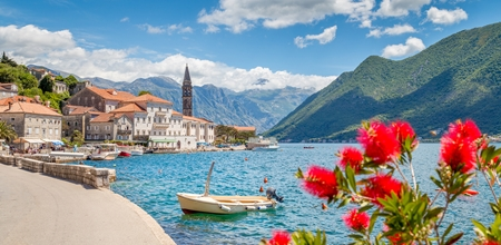 Perast at Bay of Kotor, Montenegro