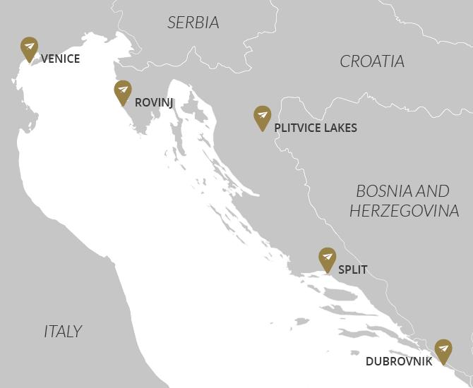 Venice & Croatia Private Tour