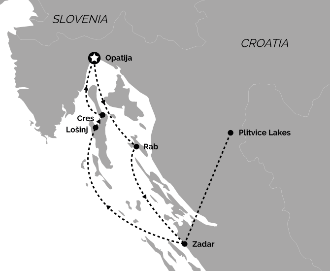 Signature Opatija Return Cruise