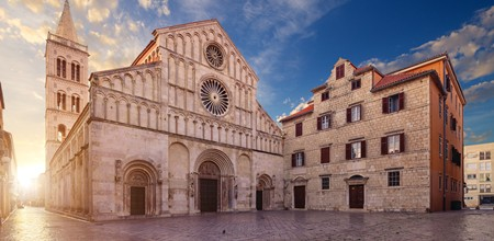 Zadar Old Town, Croatia