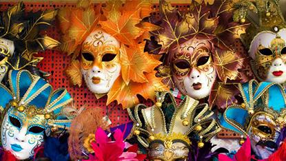 Venice Masks, Italy