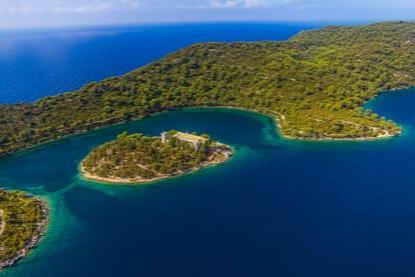Mljet National Park, St Mary's Island