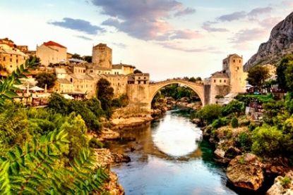 Mostar Bridge, Bosnia and Herzegovina