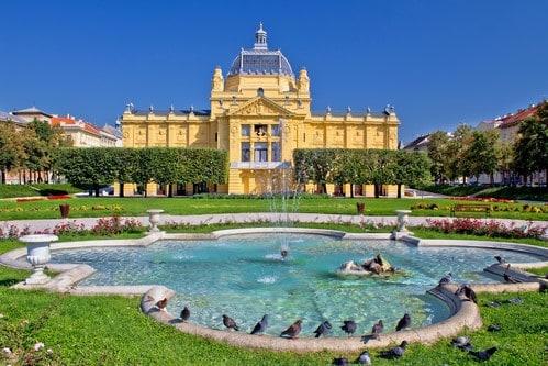 Zagreb Park Fountain