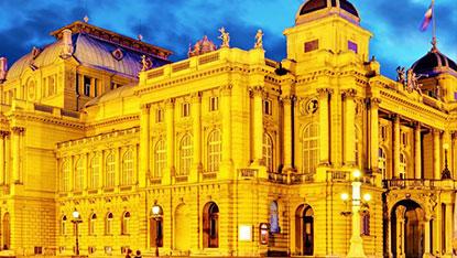 Zagreb National Theatre, Croatia