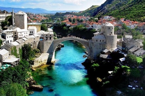 Mostar Bridge, Bosnia and Herzegovina