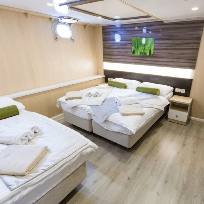 M/V Infinity double cabin