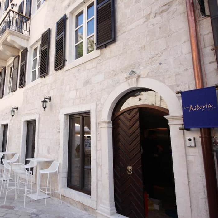 Boutique Hotel Astoria Exterior, Kotor