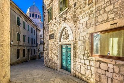 Sibenik street, Croatia