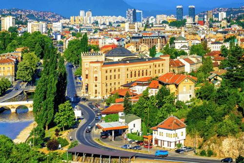 Sarajevo capital city