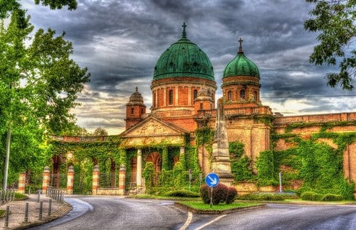 Zagreb Entrance to Mirogoj Cemetery