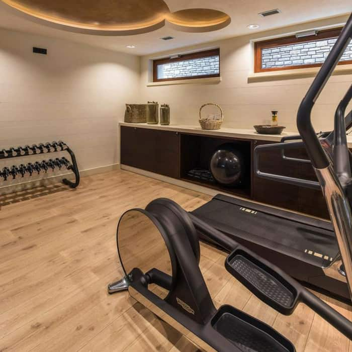 Gym at Forza Mare Hotel, Kotor, Montenegro