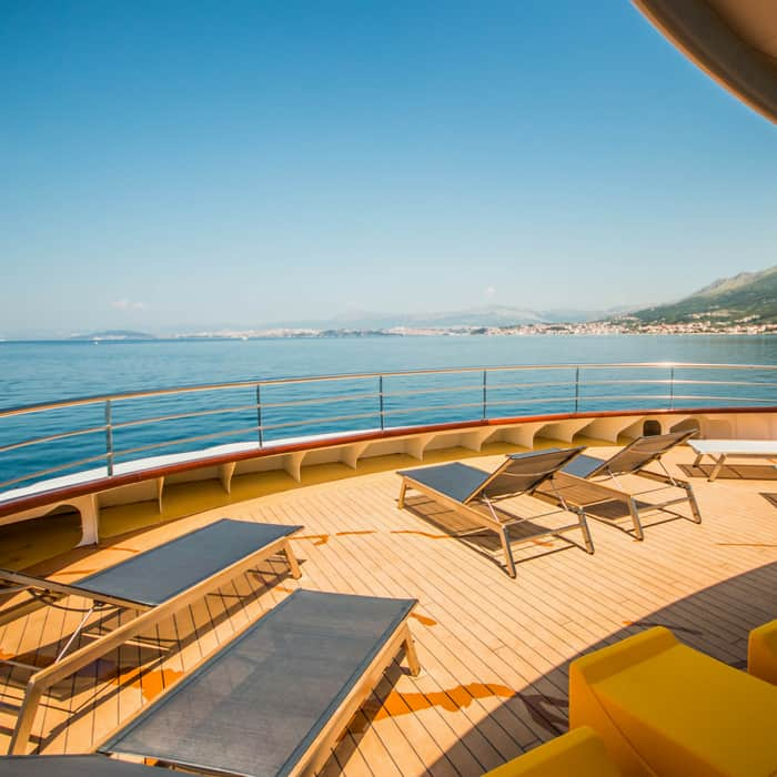 MV Black Swan, sun deck