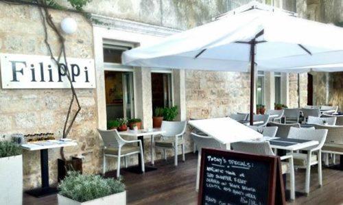Filippi Restaurant, Korcula