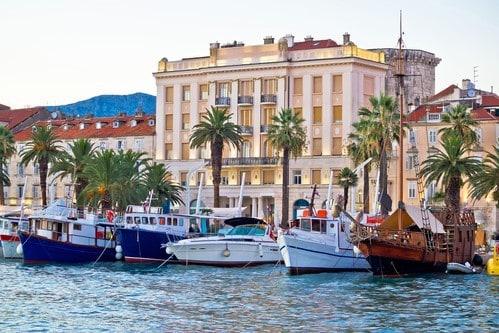 Boats in Split