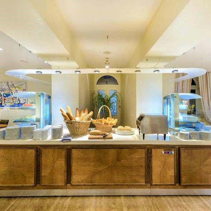 Breakfast buffet at Hotel Lapad, Dubrovnik