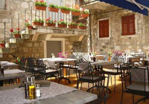 Mediterraneo restaurant Hvar Croatia